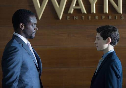 Gotham's Chris Chalk To Reprise Lucius Fox As Season 2 Regular