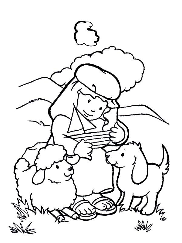 David The Shepherd Boy David The Shepherd Boy Make Sailship Toy Coloring Pages Coloring Pages Sunday School Crafts Coloring Pages For Boys