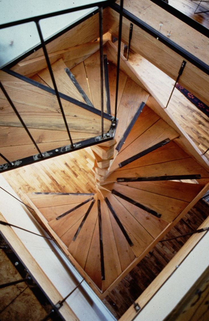 1000 ideas about loft stairs on pinterest stairs loft for Square spiral staircase plans