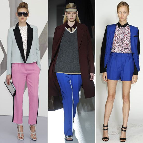 2013 Resort Trend...Sporty Suiting: Relaxing Silhouette