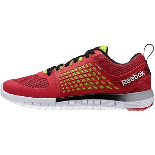Inspired by Z-rated tyres, this running shoe's unique geometry and midsole foam deliver sports car handling for your feet. Reebok - ZQuick Electrify Magenta M43726