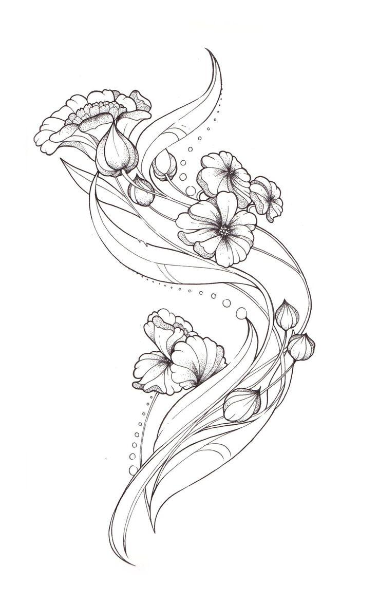 nouveau Tattoo | Art Nouveau Tattoo design by ~Tegan-Ray on deviantART