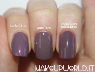 Below Deck Dupes #makeup #trucco #smalto #nail #nails #nailart #nailpolish #review #beauty #beautyblogger #nailmania