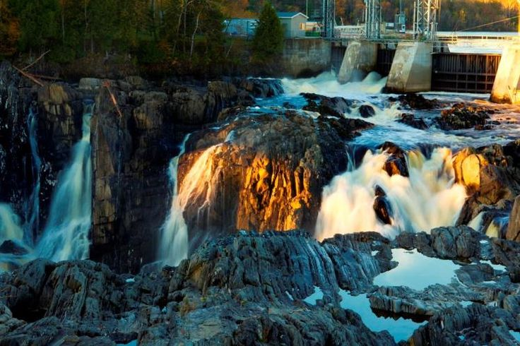 Canada's underrated tourist attractions - |Grand Falls Gorge, New Brunswick ldcd