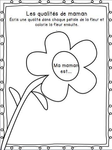 Mother's day french activities/ Activités pour la fête des mères en français
