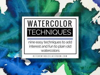 1315 besten aquarell malen bilder auf pinterest aquarellanleitungen wasserfarben und anleitungen. Black Bedroom Furniture Sets. Home Design Ideas