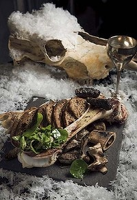 Dragons & Bones entree at the Game of Thrones theme nights held at Gastro Park in Sydney