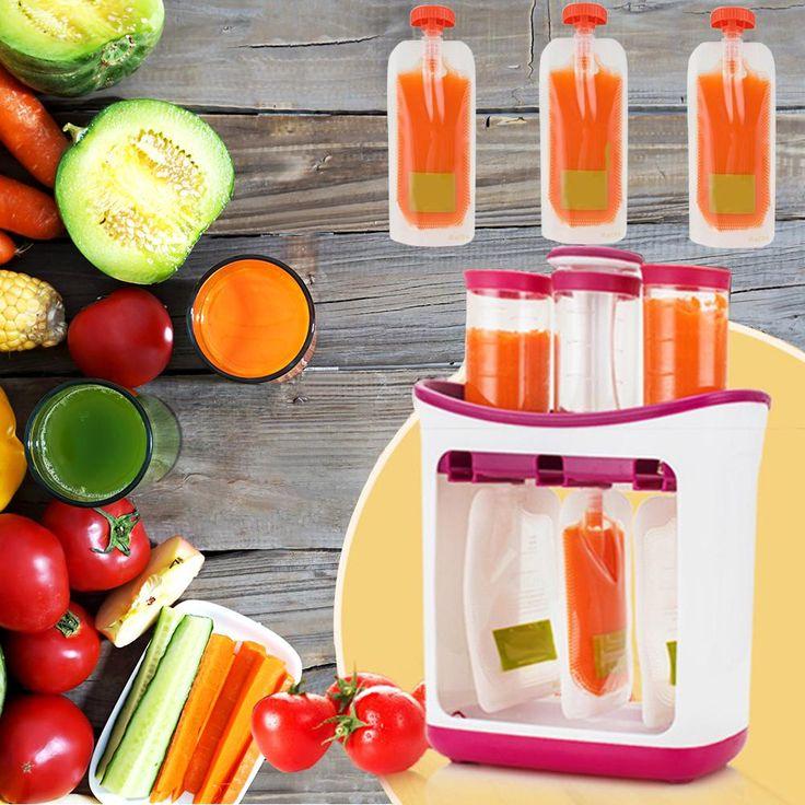 Baby food processor maker blender grinder puree with 10