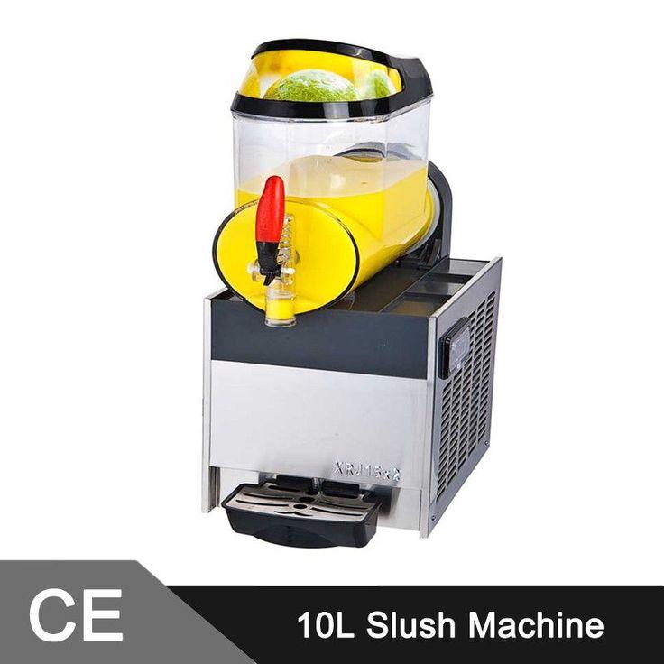 10L Single Slurpee Slushie Frozen Drink Machine Granita Cocktail Slush Maker Slush Machine