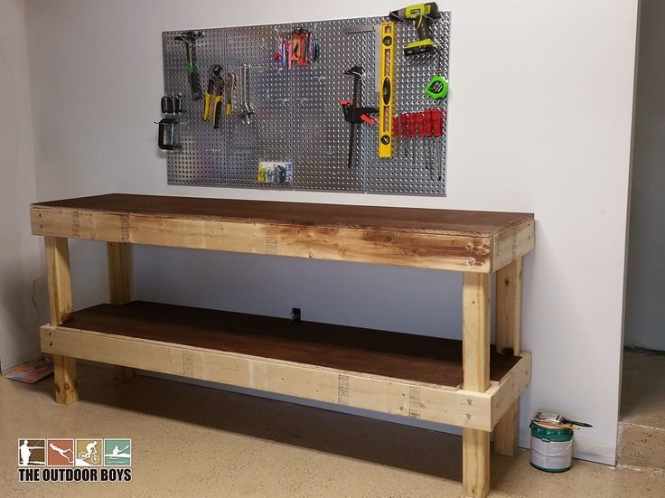 41 best antique work benches images on pinterest carpentry woodworking and wood projects for Design your own garage workshop