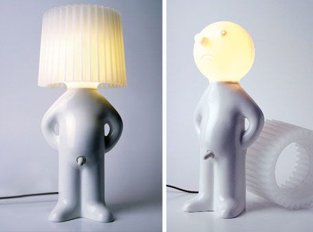 22 weird and creative lamps