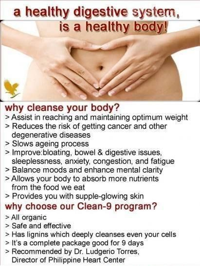 Benefits of clean living