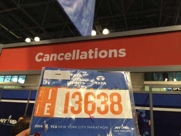 Thoughts on my DNS of the New York Marathon 2014