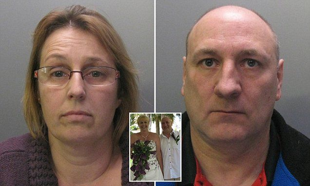 Husband and wife who abused baby on camera jailed for 27 years