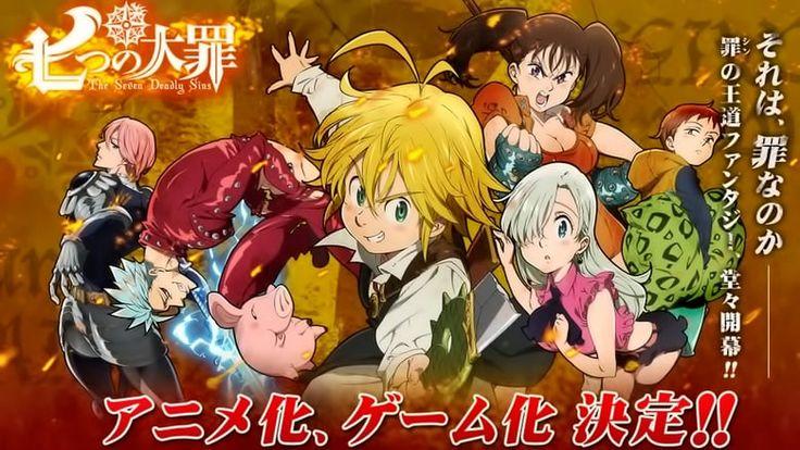 Nanatsu no taizai anime revolution seven deadly sins