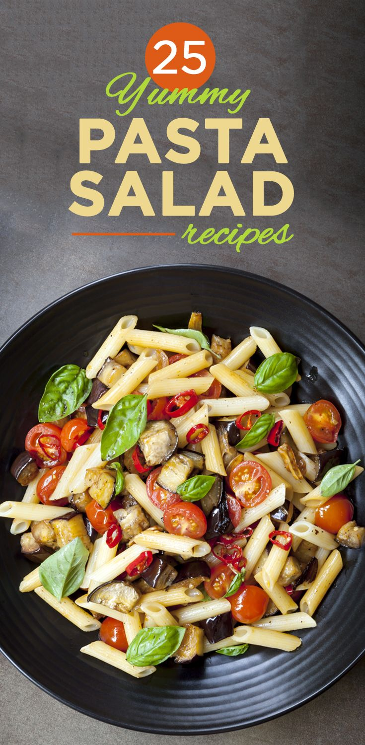 25 Yummy Pasta Salad #Recipes That You Should Try Out