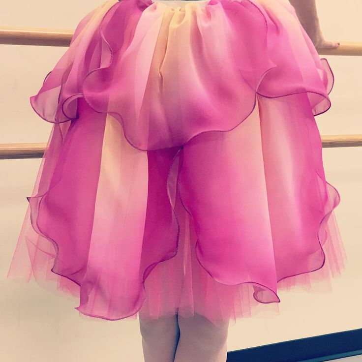 """""""The beginning of the """"Rose""""/Waltz of the Flowers costume…                                                                                                                                                                                 More"""
