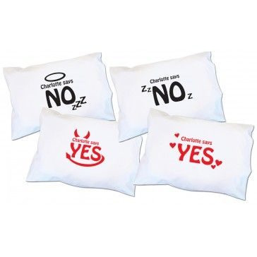 yes no pillow cases