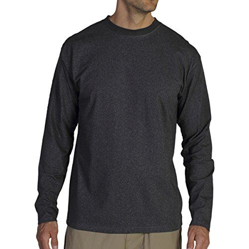 Camping Hiking Mens Clothing Exofficio Bugsaway Chasr Crew Long Sleeve