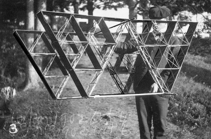 Alexander Graham Bell's kites looked like bizarre UFOs