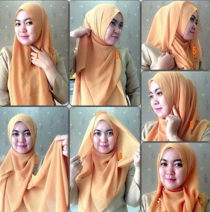 Daily hijab tutorial #2 #hijabtutorialbywilansari