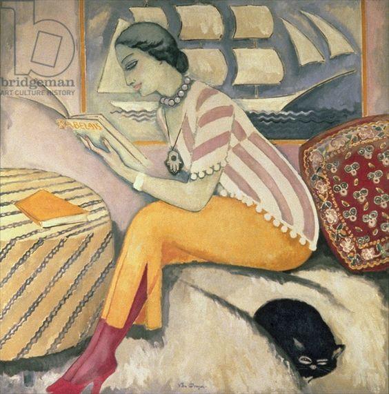 The Reading, 1911 ~ Kees van Dongen,