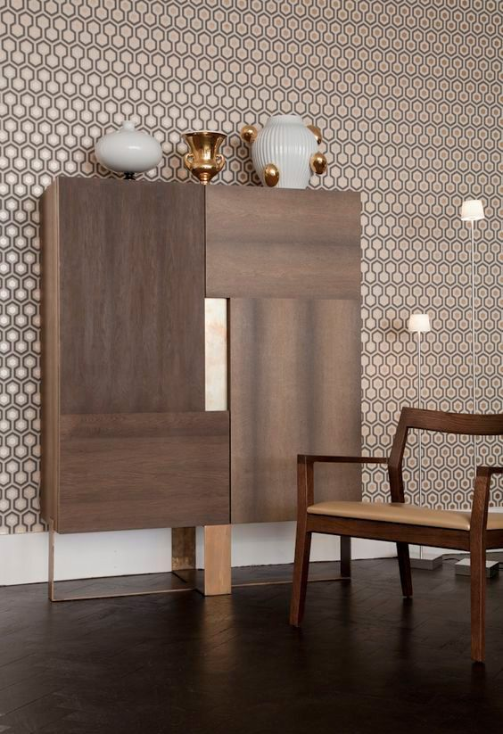 Home bar cabinet by Henge