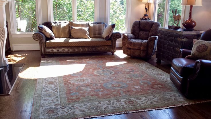 Neutral with a hint of color, etherial with a presence of strength, classic with a twist of sophisticated rustic... Oushak lays the foundation for a splendid living space.  We like!    http://www.nilipour.com #nilipourorientalrugs #happycustomer #artyoucantreadon #vintage #rug #arearug #scotchgard #Birmingham #Alabama #Homewood #shoplocal #naturalfibers #wholesaleprices #quality #directimporting #affordableluxury #functionality #practicality #appeal #investment #conversationpiece #Lifestyle…