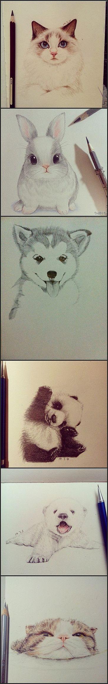 绘画 插画手绘 插画 素描 手绘 彩铅 萌动唯美图片 图集