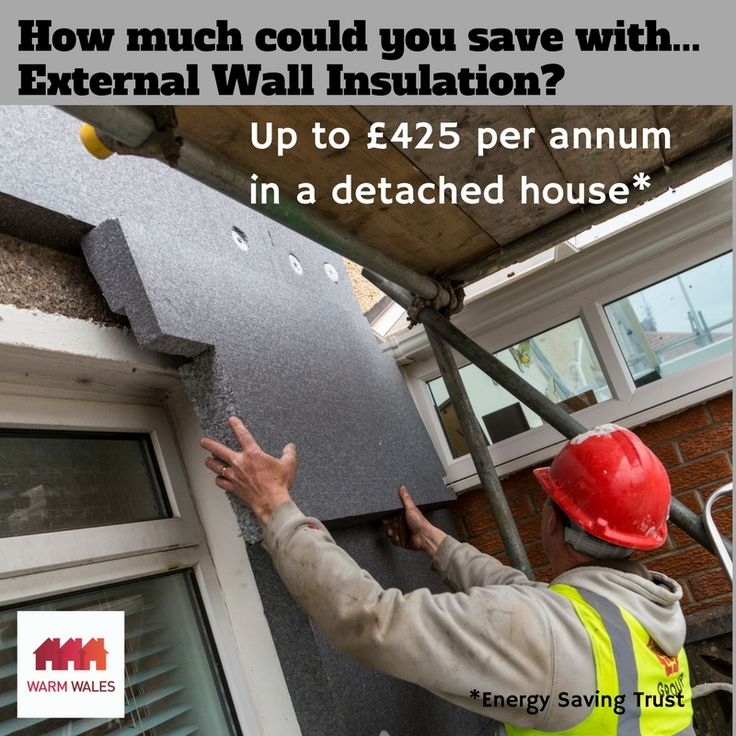 How much could you save with external wall insulation?