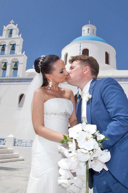 Santorini religious weddings