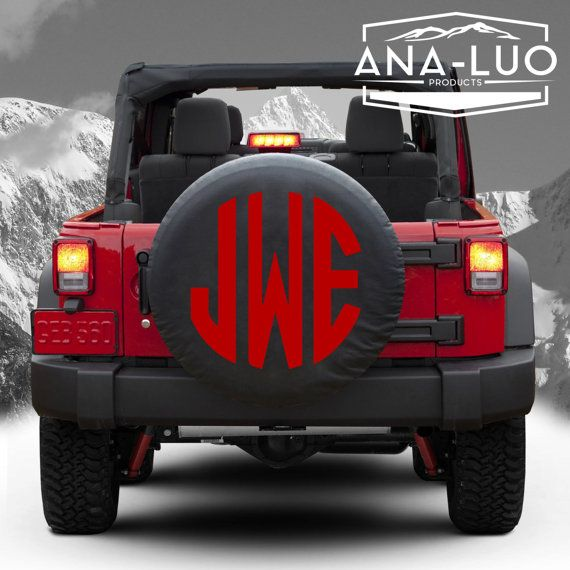 25+ best ideas about Spare tire covers on Pinterest | Spare tires, Jeep wrangler tire covers and ...