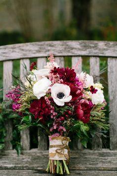Farbenfrohes Bouquet mit Pfingstrosen – Tollwasblumenmachen.de #pfingstrose