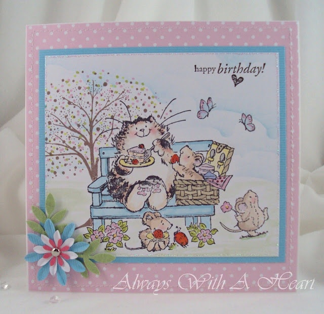 Always with a Heart: Penny Black