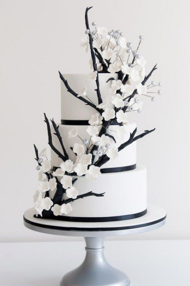 Wedding Chocolate Cake.