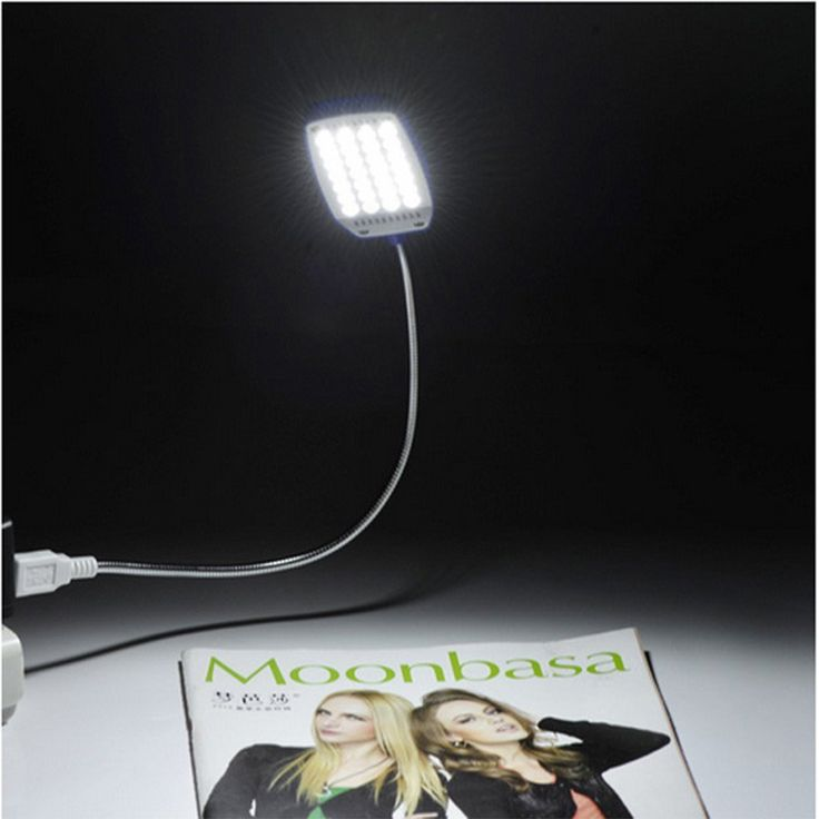 Good Top Power Bank 28LED Usb Led Light Lamp Clip On Book Flexible Light Lights  Lamp Good Ideas