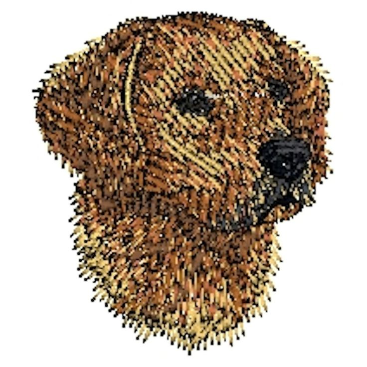 Golden Retriever Dog Embroidered Towels, Dog Gift, (Gold Retriever 4) #Handmade #AnimalPrint