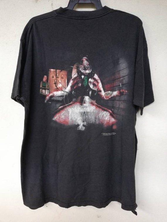 Rare Vintage 1999 Slipknot Self Titled Debut Album Etsy In 2020 Weird Shirts Neon Sweatshirts T Shirts For Women