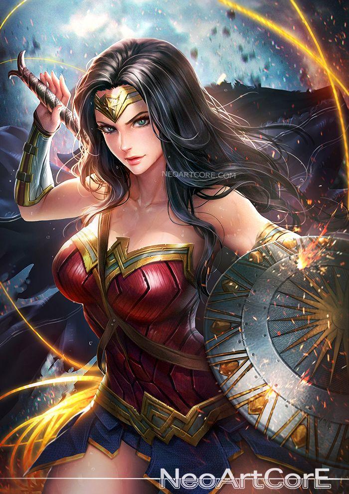Wonder Woman by Nudtawut Thongmai (NeoArtCorE)