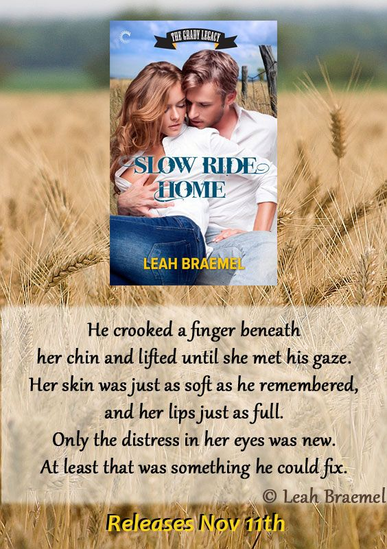 Slow Ride Home by Leah Braemel out Nov 11th
