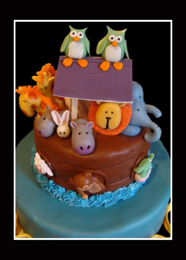 noah s ark baby shower cake by tmgarcia 98 noah s ark baby shower cake
