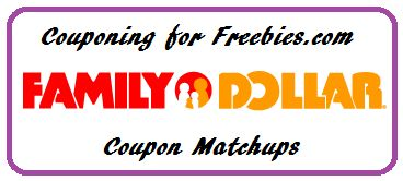 Family Dollar Coupon Matchups Updated Weekly - http://couponingforfreebies.com/family-dollar-coupon-matchups-updated-weekly/