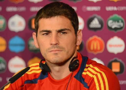 Iker Casillas, Spain and Real Madrid's goal keeper. Bets goalie in the world.