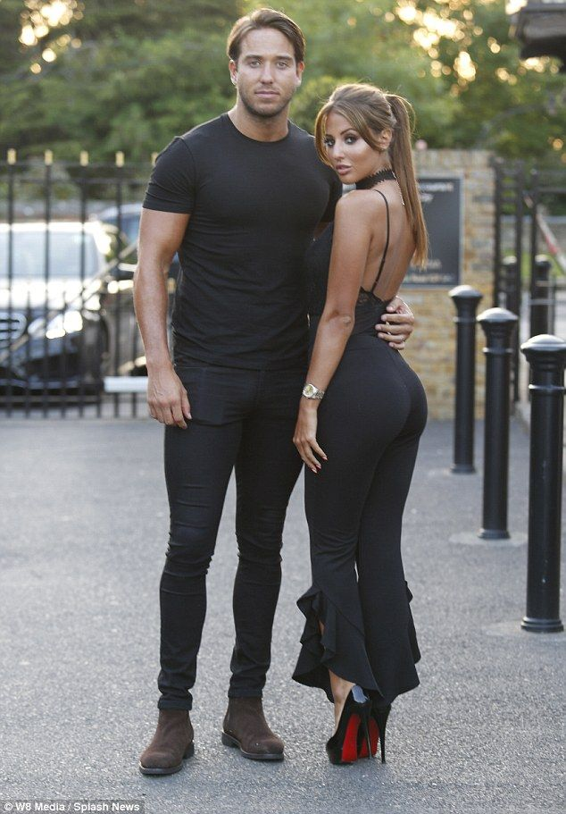 Taking the plunge: Yaz, who only recently joined the TOWIE cast, put on a titillating disp...