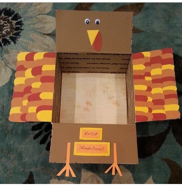 Thanksgiving Turkey care package #deployment