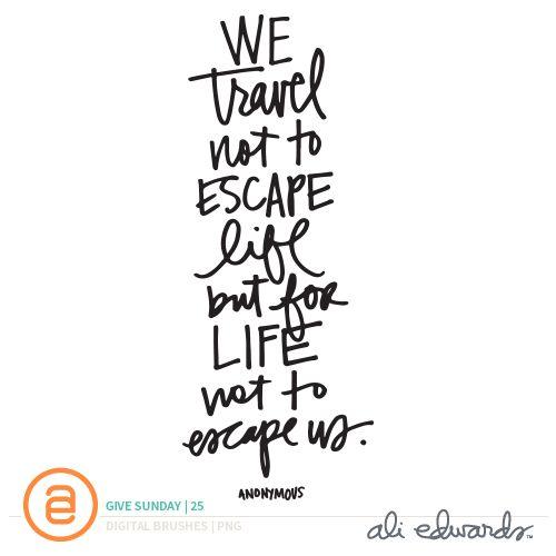 Ali Edwards | Blog: Give Sunday | 25