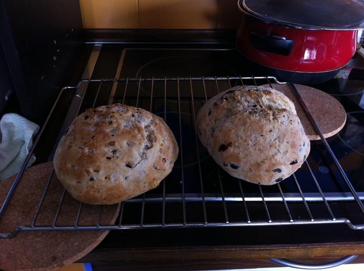Panes caseros. La panadera es fantástica
