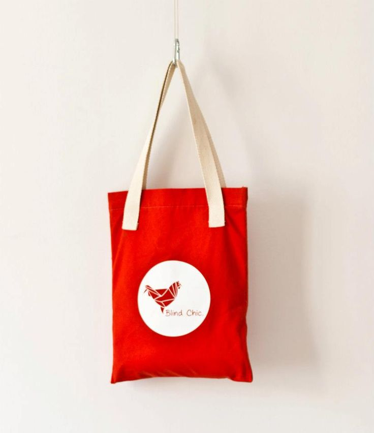 Summer 2012 - Red Tote Bag, Blind Chic.