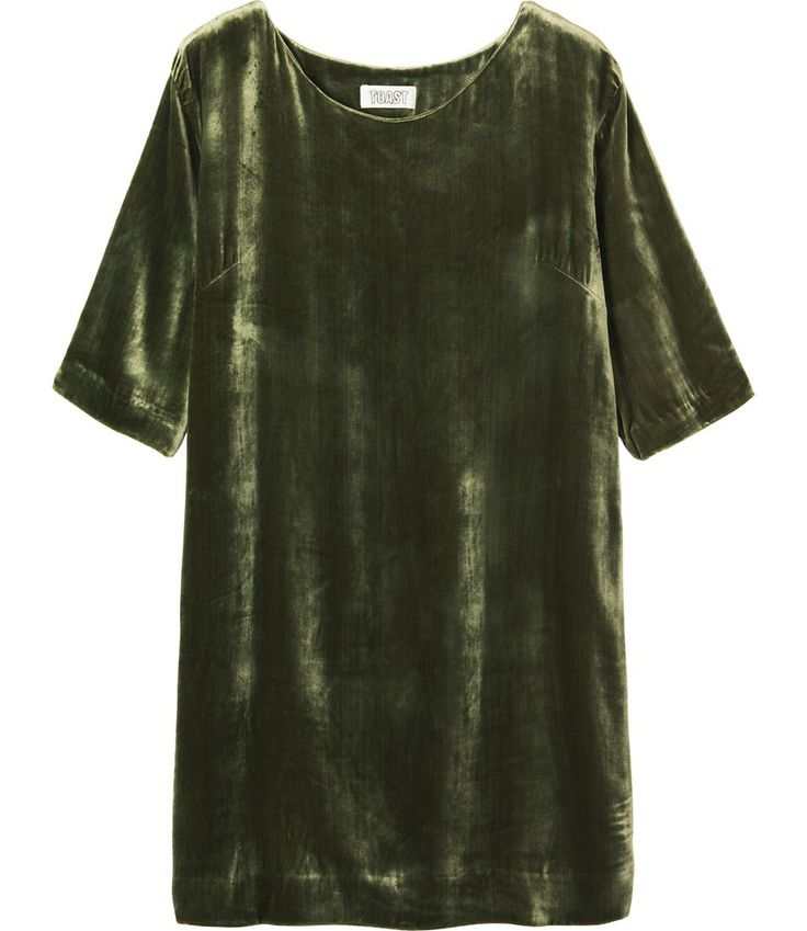 SILK VELVET DRESS * toast