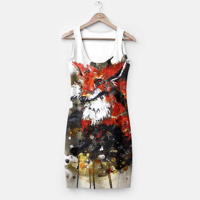 Smooth as fox Simple Dress